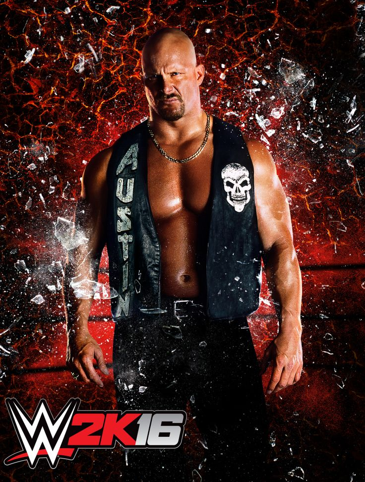 """Oh Hell Yeah! """"Stone Cold"""" Steve Austin Is Your WWE 2K16 Cover Athlete"""