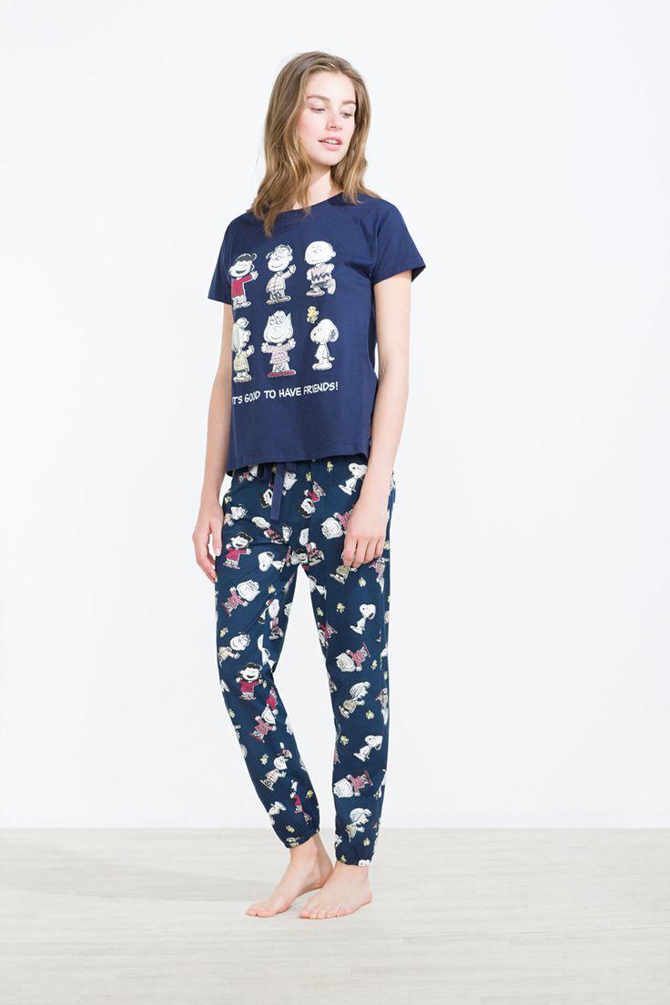 Snoopy characters long pyjama | Long pyjamas | Women'secret