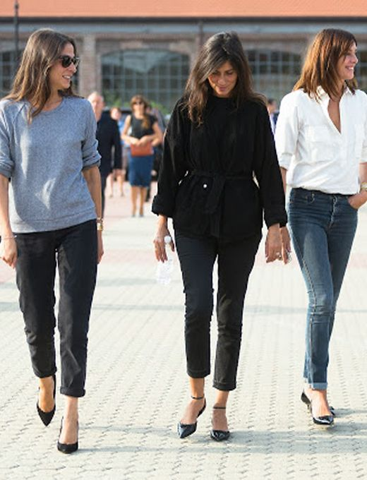 os Achados   Moda   O segredo do closet parisiense