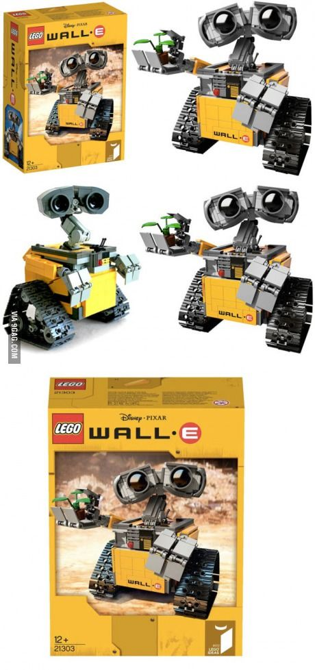 Lego's upcoming WALL•E set are unbelievably adorable!