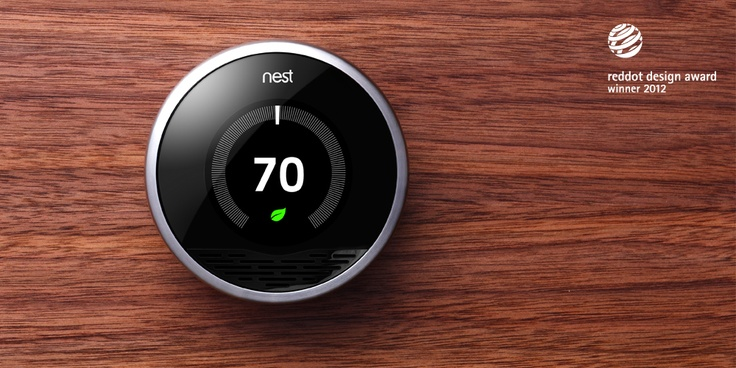Nest thermostat!! Nest learning thermostat, Thermostat