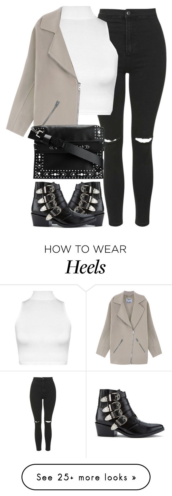 """""""Untitled #3840"""" by london-wanderlust on Polyvore featuring Topshop, WearAll, Acne Studios, Givenchy and Toga"""