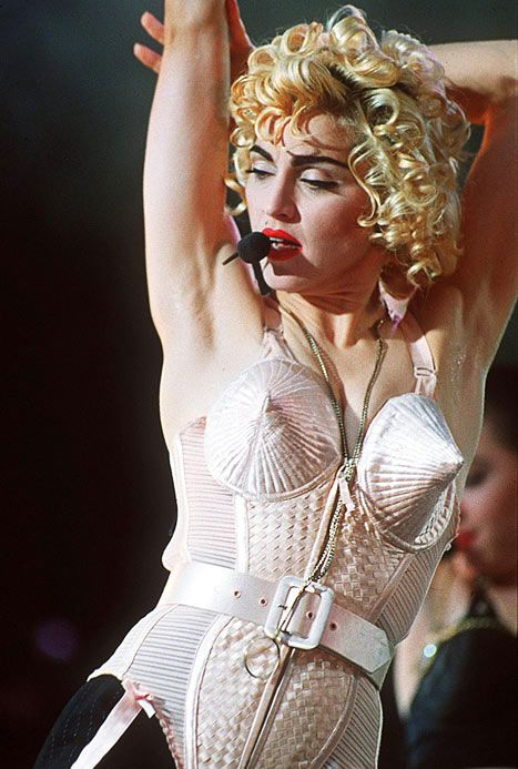 Madonna's Cone Bra by Jean Paul Gaultier | Madonna in 2019 ...