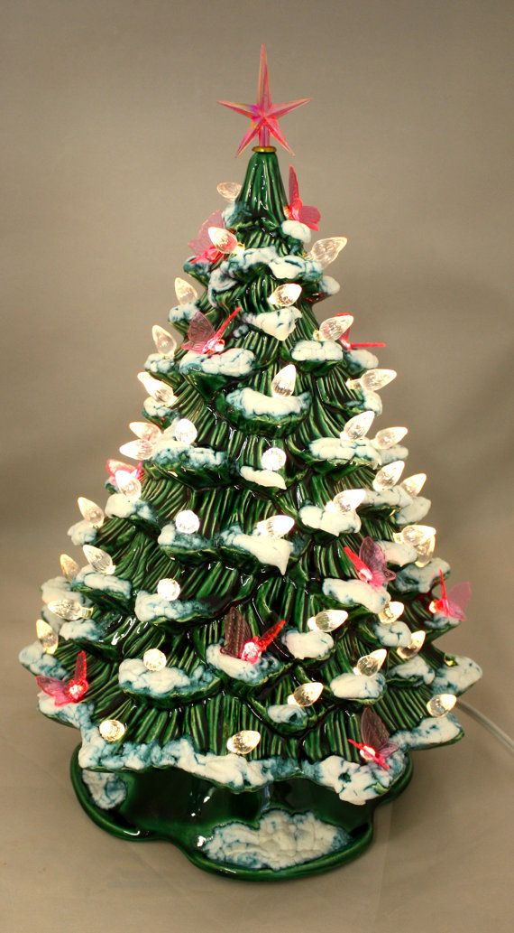 29 best vintage ceramic christmas trees images on for Best looking christmas tree