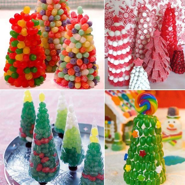 Come fare albero di caramelle geleè - Spettegolando