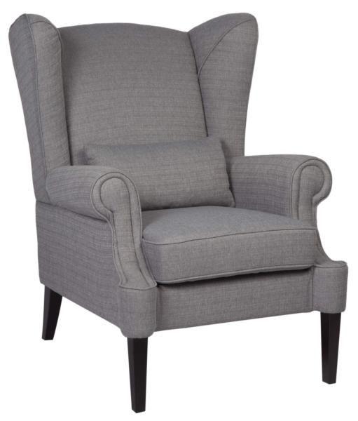 Метки: Кресла для дома, Кресла с высокой спинкой, Кресло для отдыха.              Материал: Ткань, Дерево.              Бренд: MHLIVING.              Стили: Классика и неоклассика.              Цвета: Серый.