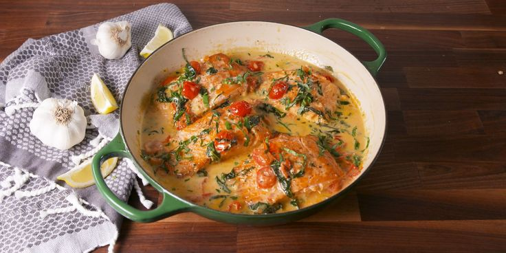 Best Tuscan Butter Salmon Recipe - How to Make Tuscan Butter Salmon