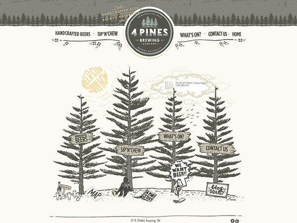 http://4pinesbeer.com.au/ - 4 Pines Beer Website
