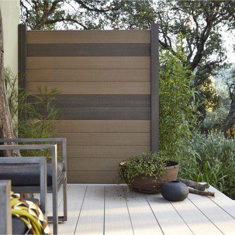 lame en composite droite x cm x mm lery merlin unit d coration. Black Bedroom Furniture Sets. Home Design Ideas