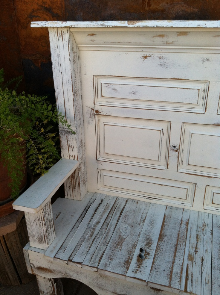 Superieur Old Door Bench.