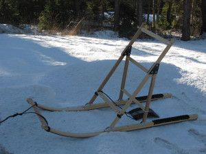 Kick Sleds - Adanac Sleds & Equipment