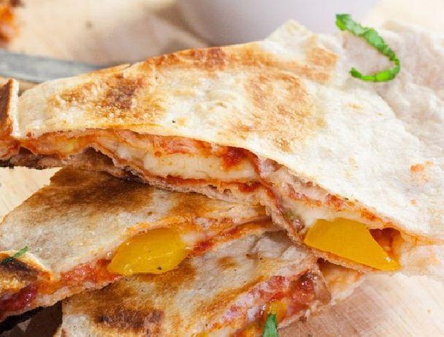 Sajtos csirkés quesadilla Recept képpel - Mindmegette.hu - Receptek
