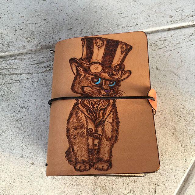 Traveler's Notebook in pelle realizzati a di LorenzoDiniFirenze