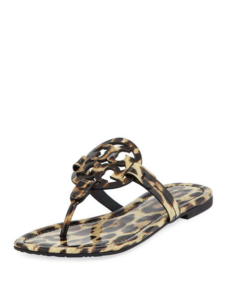 399fe10e3a6815 Miller Printed Flat Thong Sandal by Tory Burch at Neiman Marcus ...