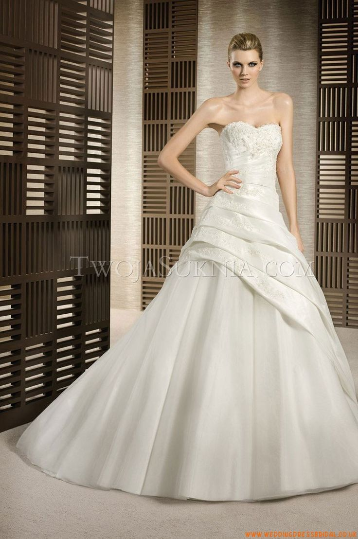 Find this pin and more on one shoulder bridal gowns by e4097