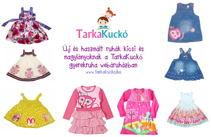 Second hand and new kids clothes at www.tarkakucko.hu