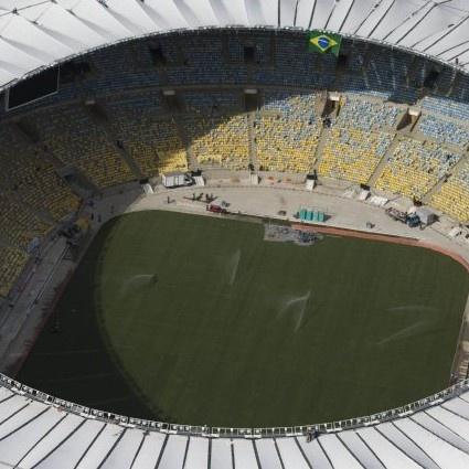 Around The Grounds: New Maracana Stadium, Rio De Janeiro