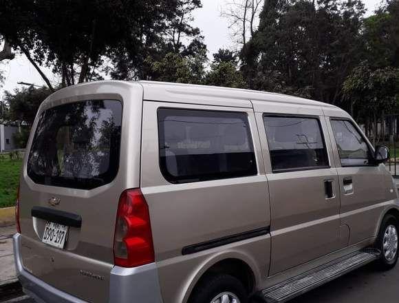 Vendo Minivan Chevrolet N300 Como Nueva En Lima Mini Van