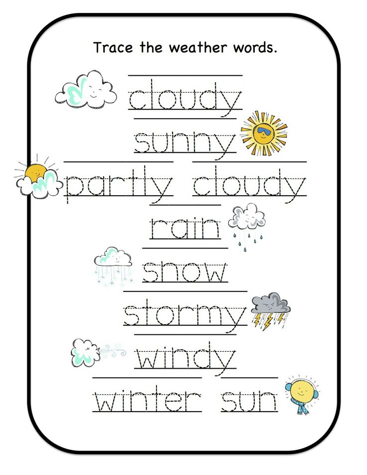 It is a photo of Stupendous Free Printable Weather Worksheets