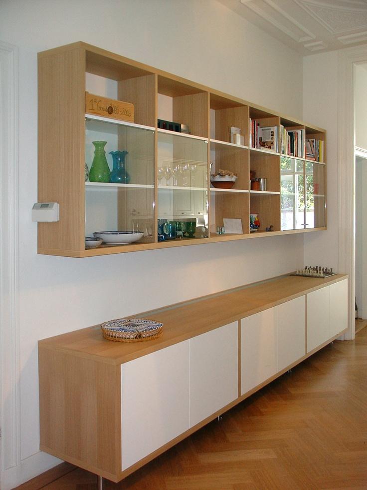25 beste idee n over ingebouwde boekenkasten op pinterest kantoor aan huis thuisstudie - Eigentijdse boekenkasten ...
