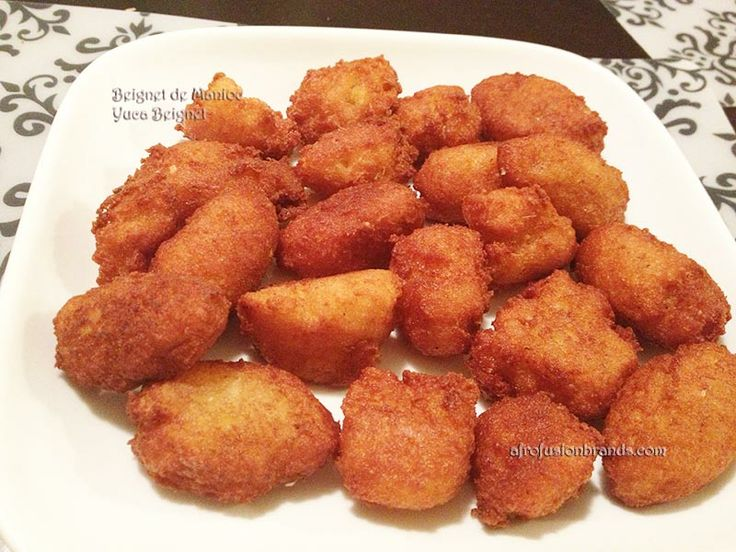 Beignets de manioc du cameroun recette d afrique de l for Africaine cuisine