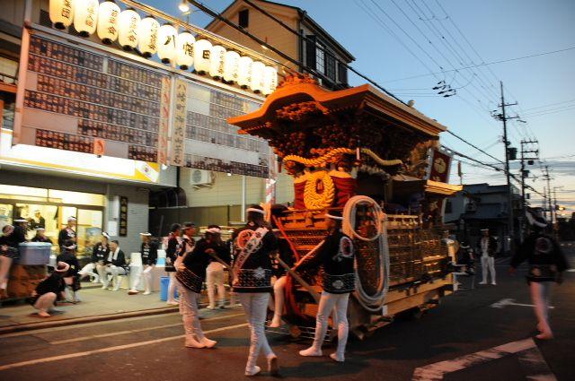岸和田だんじり祭り 平成26年度 春木地区 八幡町