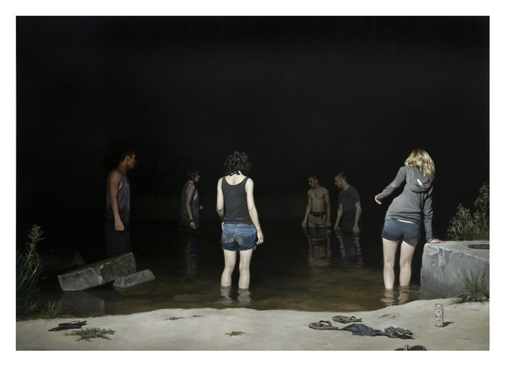 All Visual Arts - Jonathan Wateridge - Swimming Hole