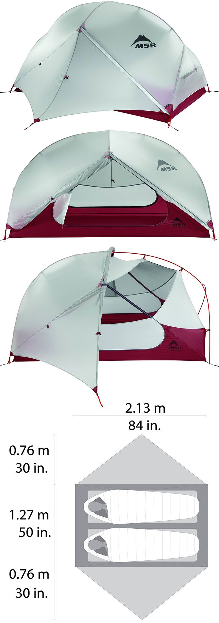 Designed for backpackers who need a tent that can do it all while still being compact and lightweight, our bestselling MSR Hubba Hubba 2-person tent feels as light and efficient to use as it does to carry. From its optimized, symmetrical geometry and non- http://campingtentslovers.com/best-backpacking-camping-tents/