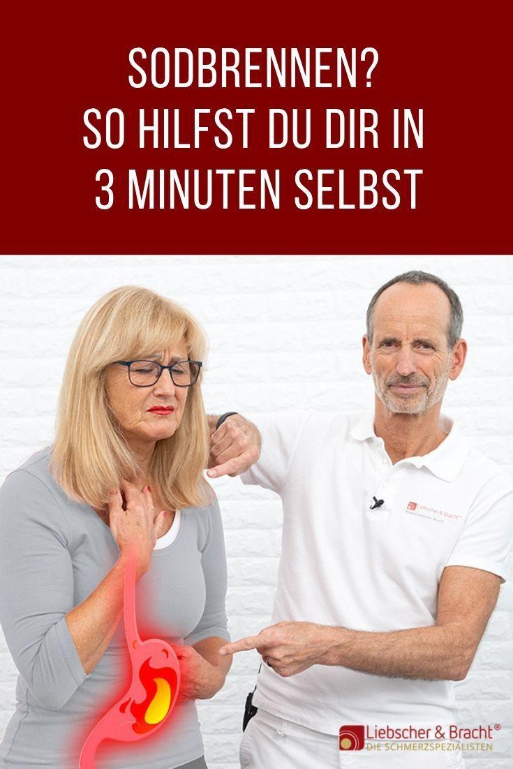 Sodbrennen: So hilfst du dir in 3 Minuten selbst!