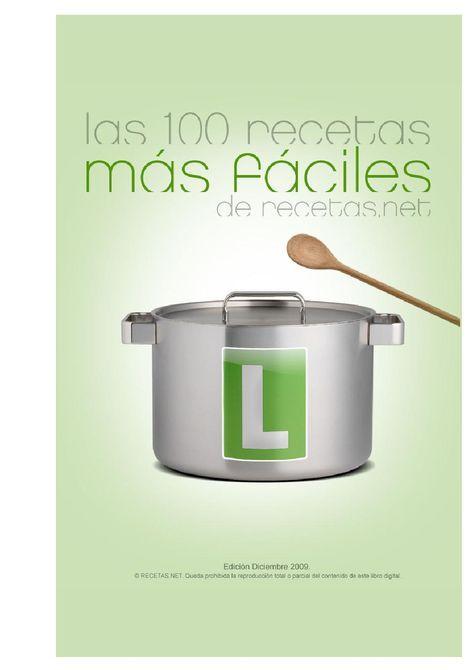 La 100 recetas mas faciles.