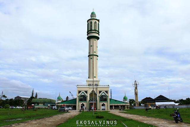 Mujahidin Mosque, Pontianak. Indonesia