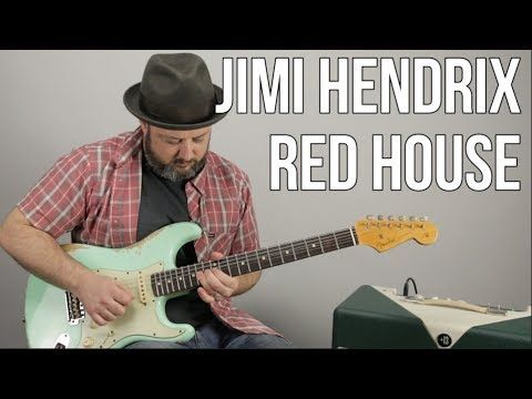 Jimi Hendrix - Red House - Inspired Guitar Lesson - YouTube