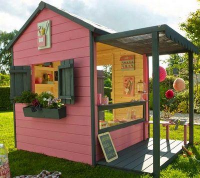 Les 96 meilleures images propos de abris de jardin et for Amorce maison pour gardon