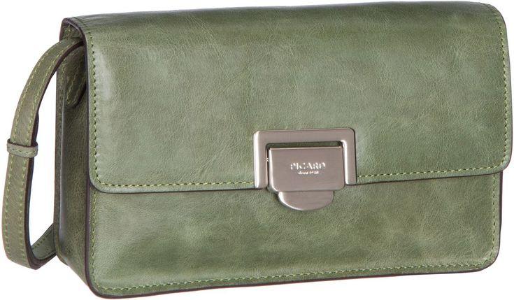 Taschenkaufhaus Picard Kathmandu 8122 Moos (innen: Braun) - Umhängetasche: Category: Taschen & Koffer > Umhängetaschen > Picard…%#Taschen%