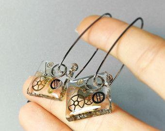 resin earrings – Etsy                                                                                                                                                      More