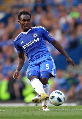 Michael Essien of Ghana and Chelsea.