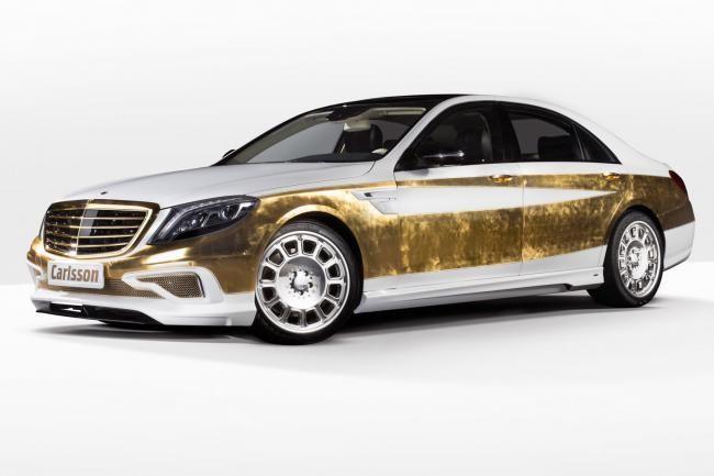 Mercedes-Benz S-Class Karya Carlsson Berlapis Emas Luar-Dalam - Vivaoto.com - Majalah Otomotif Online