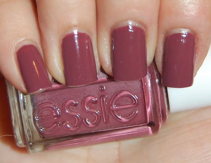 Love This Muted Pinkish Purple Color For Winter Polish