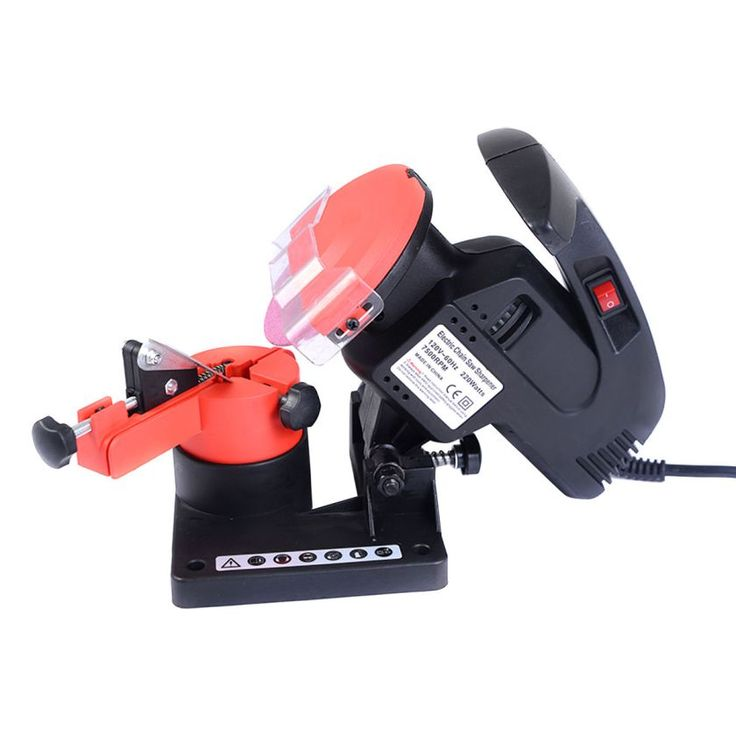 Portable Electric Chainsaw Sharpener Chain Blade Grinder 7500 RPM HD New