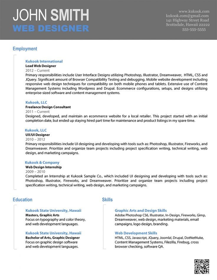 12 best Resume Formats images on Pinterest Resume design, Design - unique resume formats