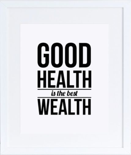 health quote poster #healthquote #inspirationalquote #print