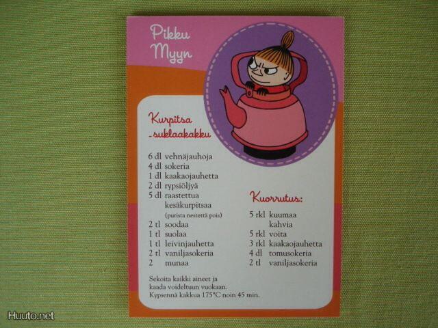 Pikku Myyn Kurpitsa-suklaakakku