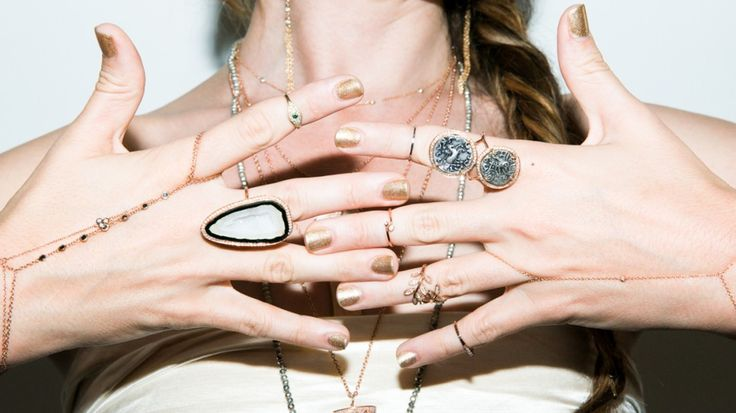 Jacquie Aiche collection available at the jewelry store in Beirut, Lebanon: Macle Jewel Collective.