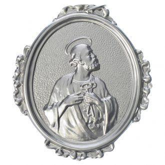Medalla cofradía San Pedro latón   venta online en HOLYART