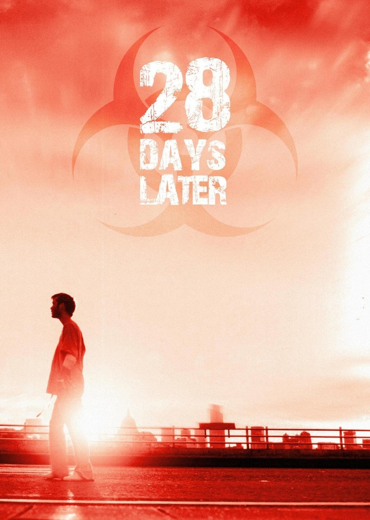 "28 Days Later (2002) - Don't think of this as a zombie movie, more as a ""Apocalypse...Sucks"" one. Director Danny Boyle scares the crap out of us with this intense end of the world tale."