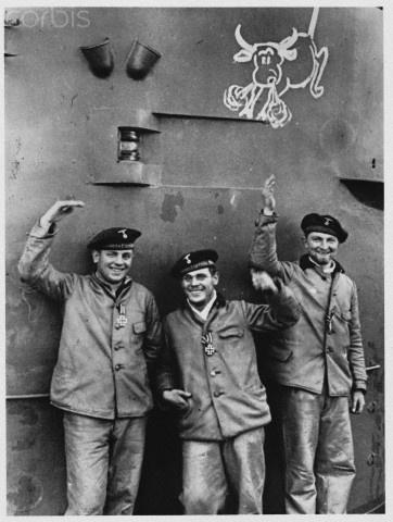 Crew of German Submarine, 1939 - HU028806 - Rights Managed - Stock Photo - Corbis