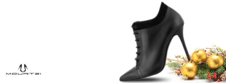 May all your dreams come true! Holiday ankle boot