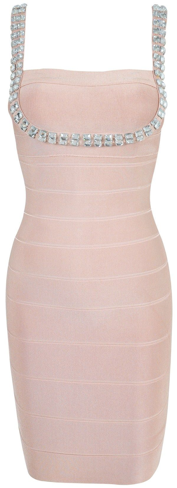 Clothing : Bandage Dresses : 'Kendall' Nude Pink & Crystal Bandage Dress: Bandage Dresses, Women Fashion, Backless Prom Dresses, Crystals Bandage, Bridesmaid Dresses, Pink Crystals, Blushes, Kendall Nudes, Nudes Pink