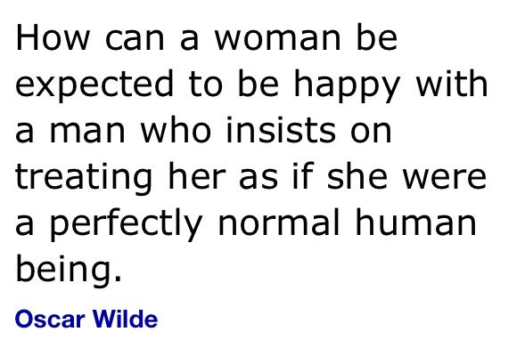 Wise man Wilde