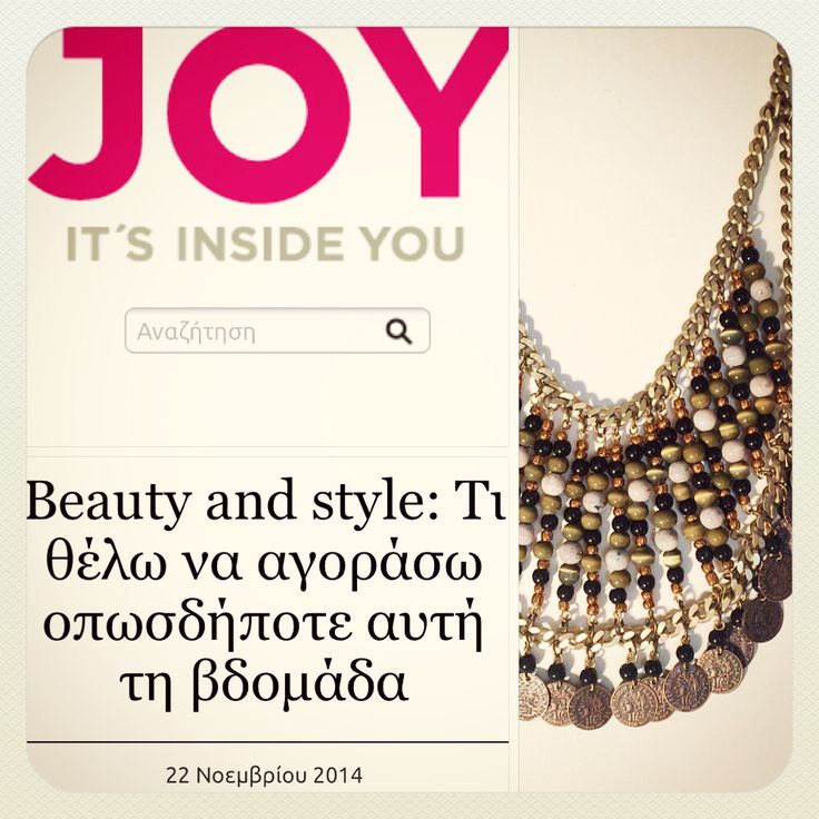 Klaidra *The mayan* beaded necklace featured on @joytvgreece✨ #klaidra #mayan #beaded #necklace #joytvgr #feature #greekdesigners #musthave #klaidrajewelry #bohemian #gypsy #jewelry